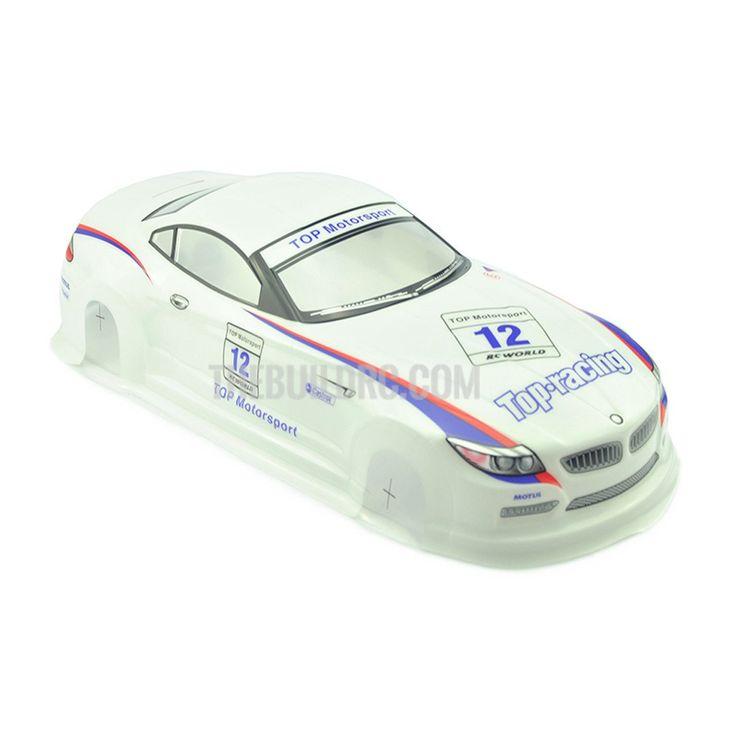 1/10 BMW Z4 PVC Analog Painted RC Car Body