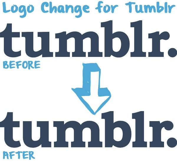 Tumblr's Logo Gets A Subtle Tweak - DesignTAXI.com. Sometimes subtle tweaks are harder to think about and execute than complete redesigns.