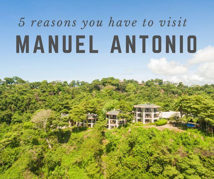 Manuel Antonio is a must-visit destination on your trip to Costa Rica! #CostaRica #vacation #manuelantonio