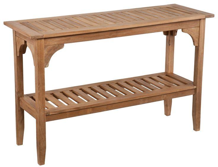 South Shore Decorating: Southern Enterprises Inc CR1265 Kaden Transitional Teak Console Table SEI-CR1265