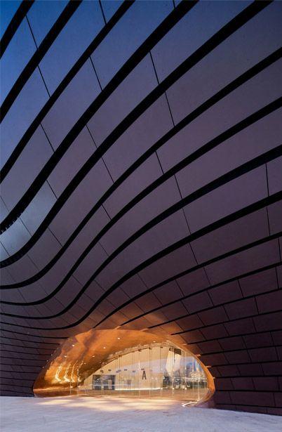 Le cabinet d'architecture MAD a réalisé le musée de la ville d'Ordos, en Mongolie.