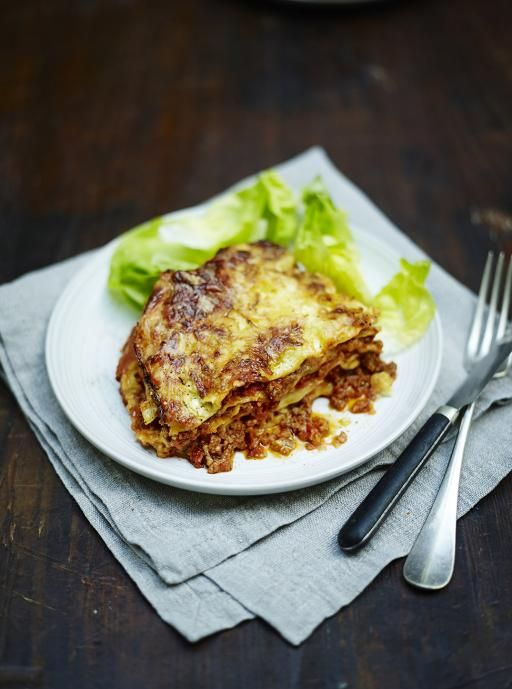 Jamie Oliver's  classic family lasagne Perfect for batch cooking and freezing
