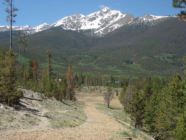 Best 1st fairway on a disc golf course ever -Frisco, CO