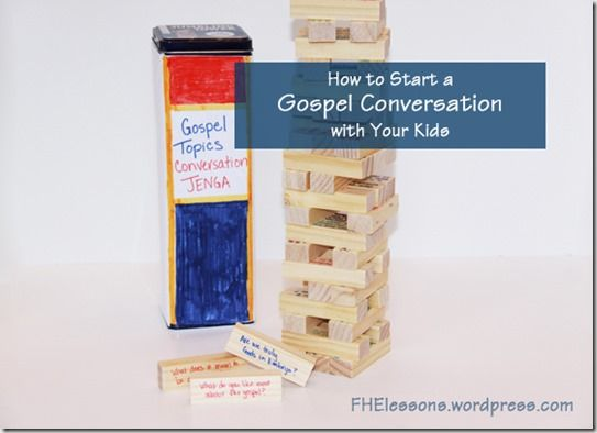 48 Questions to Start a Gospel Conversation with Your Kids
