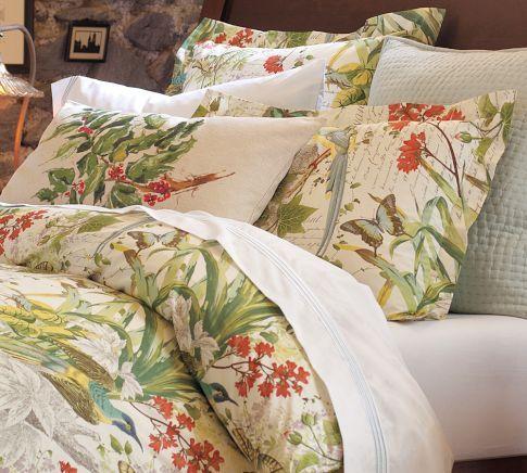 Secret Garden Print Duvet Cover Amp Sham Quilts 1