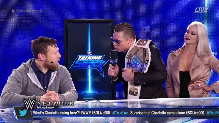 The Miz stopped by Talking Smack on WWE Network to gloat about his Intercontinental Championship victory over Dolph Ziggler.