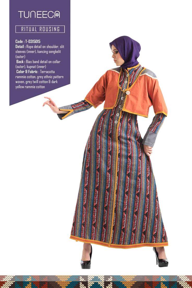Guinevere Deep Ritual by Tuneeca  #tuneeca #muslimwear #hijab #fashion #ethnic