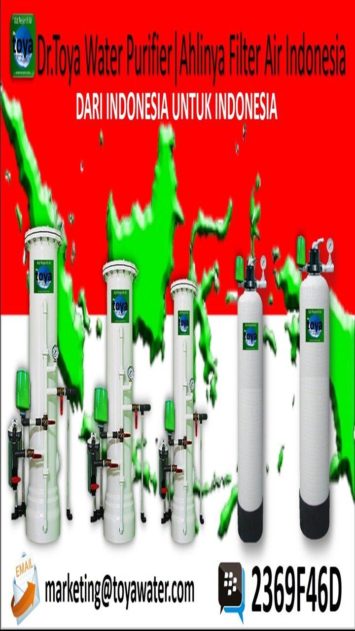 filter air dan alat penjernih air rumah tangga yang sangat berkualitas tinggi www.toyawater.com