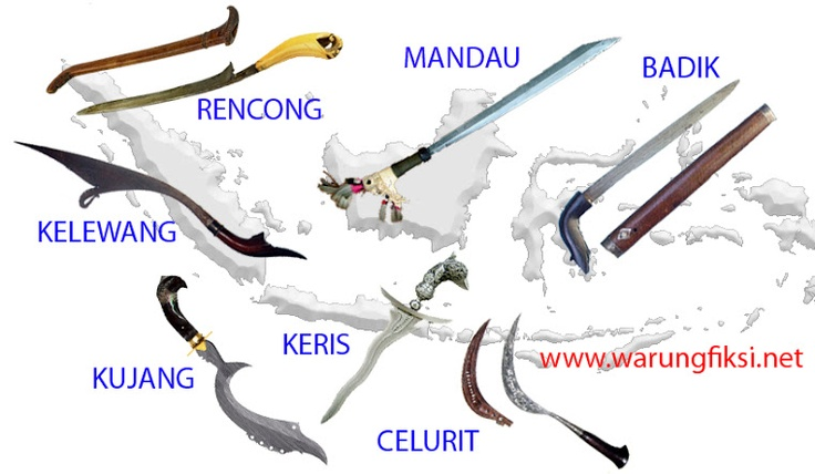 Until today, some tribes in Indonesia use traditional weapons as tools for hunting, self-defensing, and yes, attacking someone or something. It's not only about sharpness, but also mystical power behind.