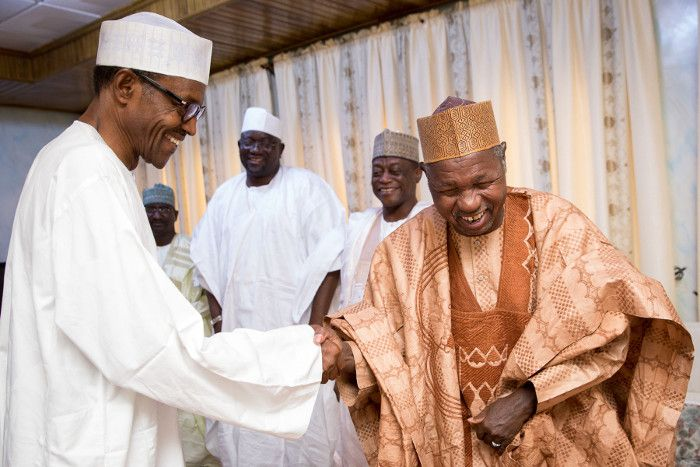 Image result for Group holds solidarity campaign for Buhari, Masari