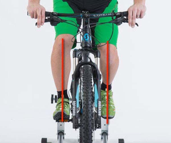 Knie & Fuß Ratgeber - Radfahren, Fahrrad, Knieschmerzen