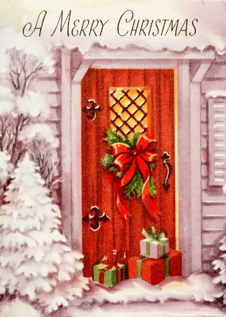 Christmas Front Door Clipart 903 best ~cards home for the holidays~ images on pinterest