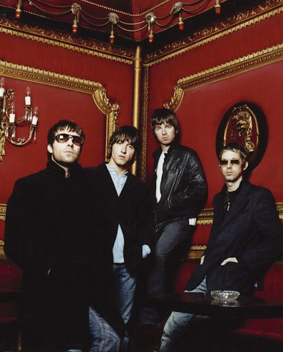 Oasis (Liam, Gem, Noel, and Andy)