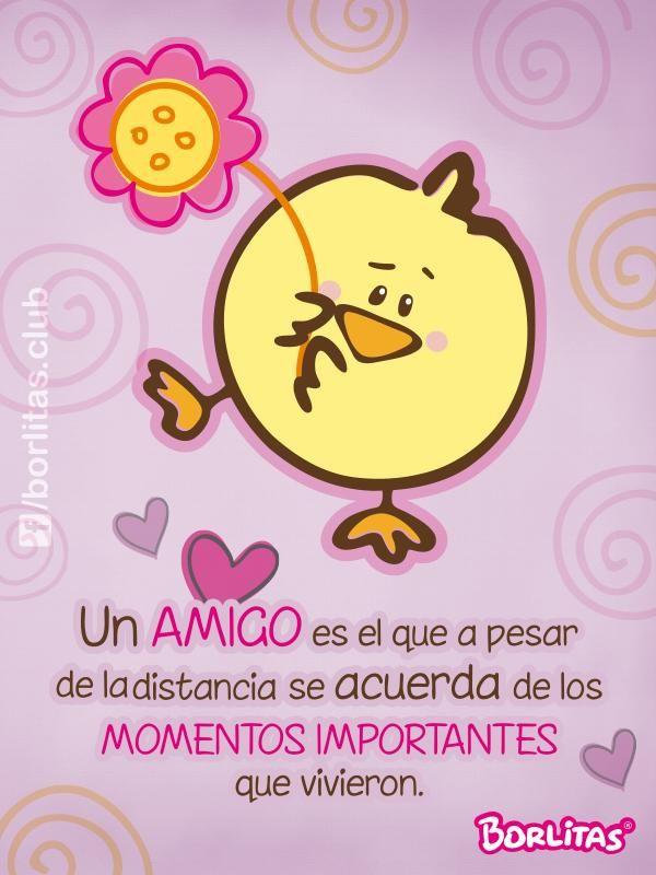 un amigo es el que a pesar de la distancia se acuerda de los momentos importantes que vivieron