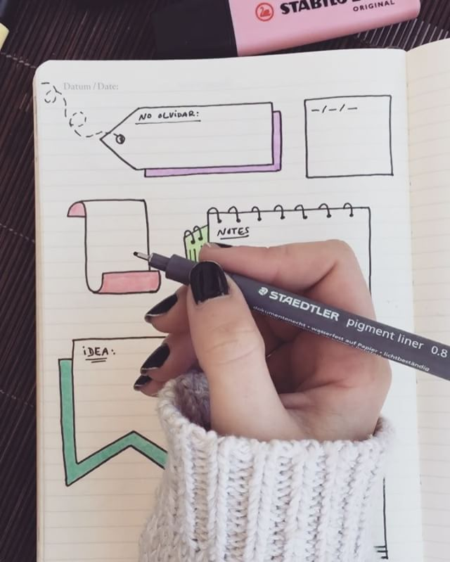 "3,014 Me gusta, 64 comentarios - Bullet Journal & Studygram (@mylittlejournalblog) en Instagram: ""Como tener unos apuntes bonitos paso 2 ✍️❤️"""