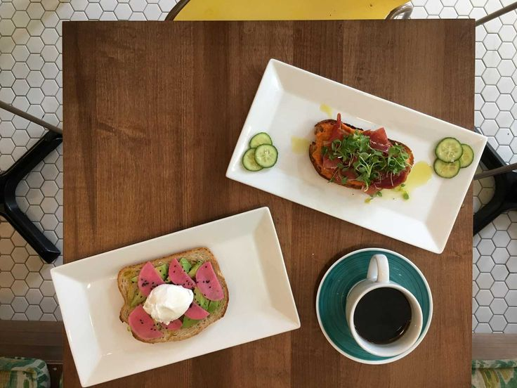 Pear Plum Cafe — an all-day bistro with ample seating — caters to families and toast lovers.