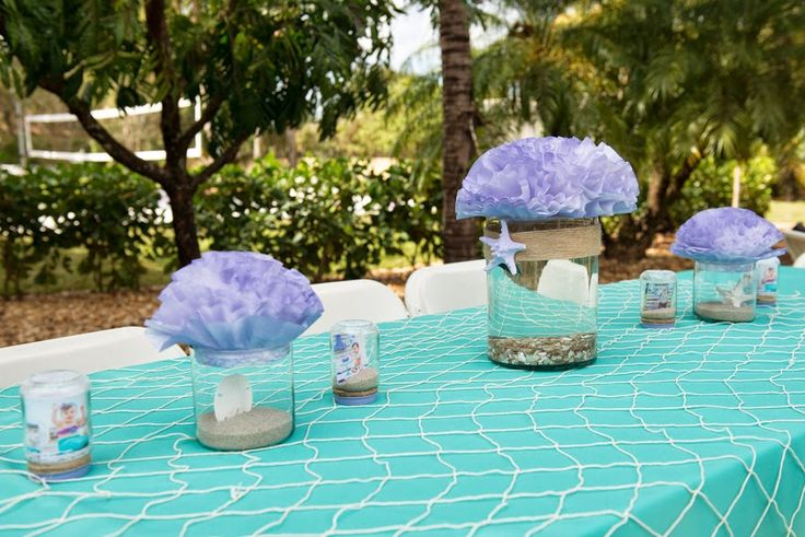 The Frosted Petticoat: The (very) Little Mermaid. Baby shower