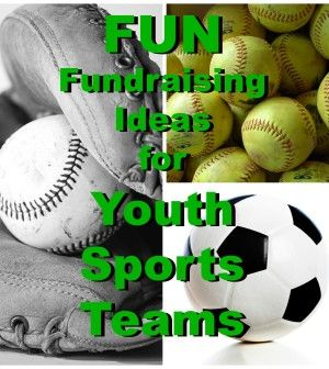 6 Youth Sports Fundraising Ideas >>> Found Right Here on Pinterest >>> Check 'em Out!