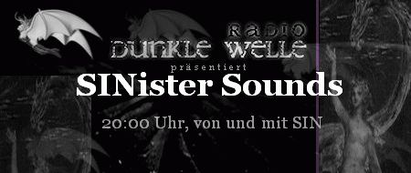 sinister sounds1 - Fantastic Gothic Radio Show from Germany - love it :-)