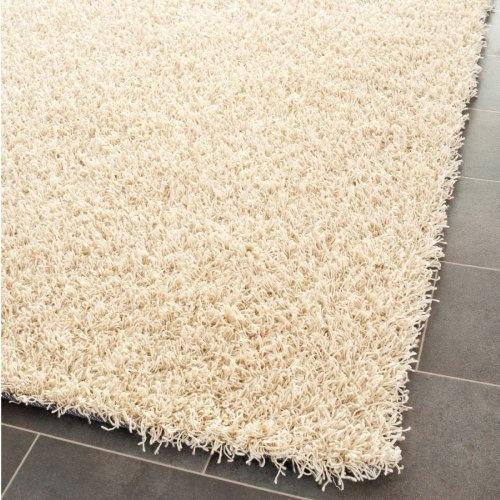 Ikea Off White Rug Canada: Amazon.com: Area Rug 5x5 Square Shag Creme Color $116