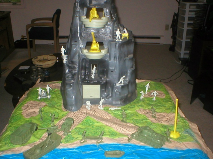 Marx Toys Navarone Play Set 3412 The Mountain Battleground ...