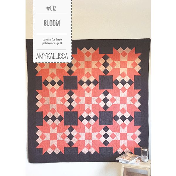 Bloom Quilt Sewing Pattern Available in PDF Download and Print