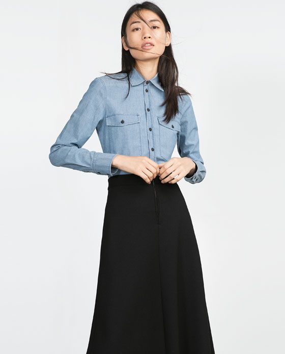 Image 2 of TAILORED SHIRT from Zara