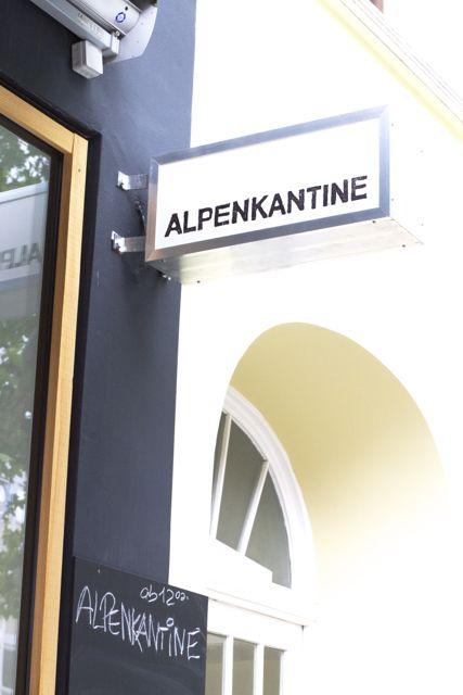 Lykkelig - mein Foodblog: Kleiner, feiner Hüttenzauber: Die neue Alpenkantine in Hamburg-Eimsbüttel.