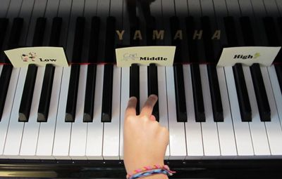 a first piano lesson, including links to free printables