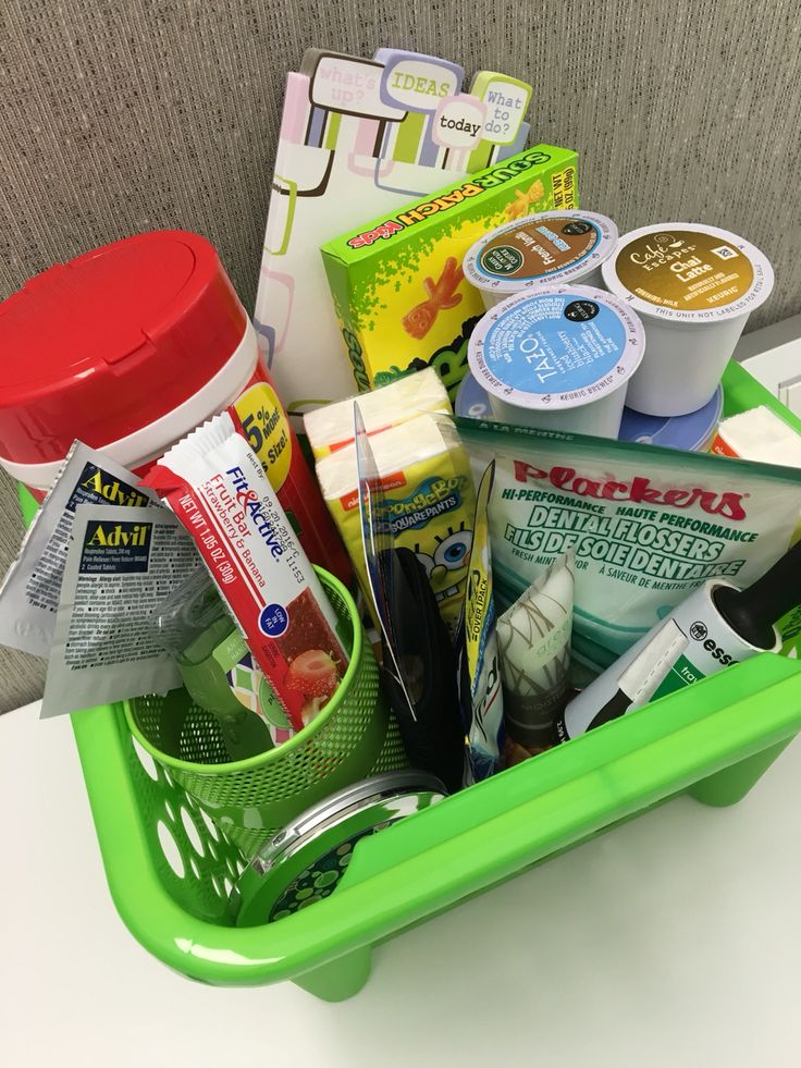 "Onboarding/Welcoming new employees to your team with an ""essentials"" box…"