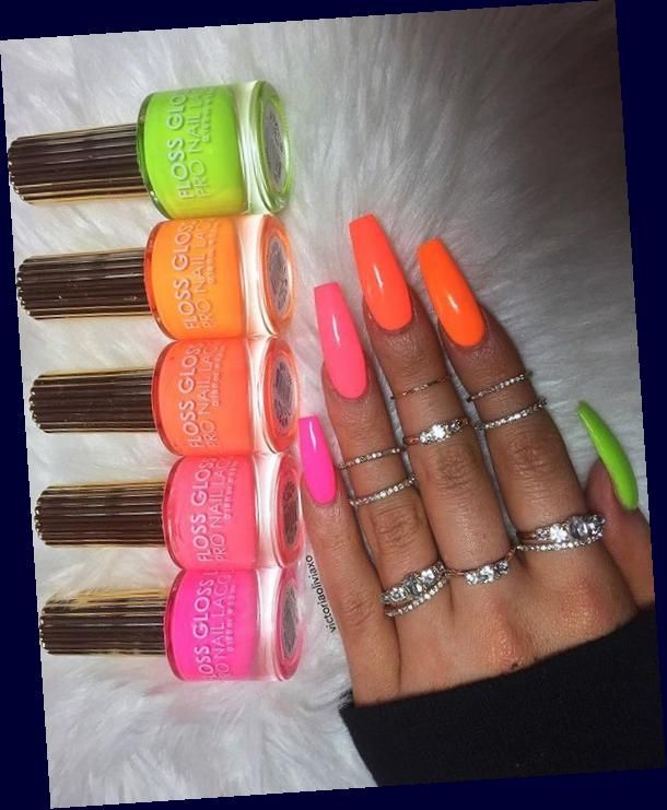 60 Summer Nail Art 2020 Ideas To Give You That Invincible Shine And Confidence Hike N Dip 60 Summer Nail A In 2020 Nail Art Summer Cute Summer Nails Summer Nails