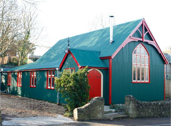 The Isle of Wight.  Former Blackgang mission hall, now stunningly converted with an architect designed interior.