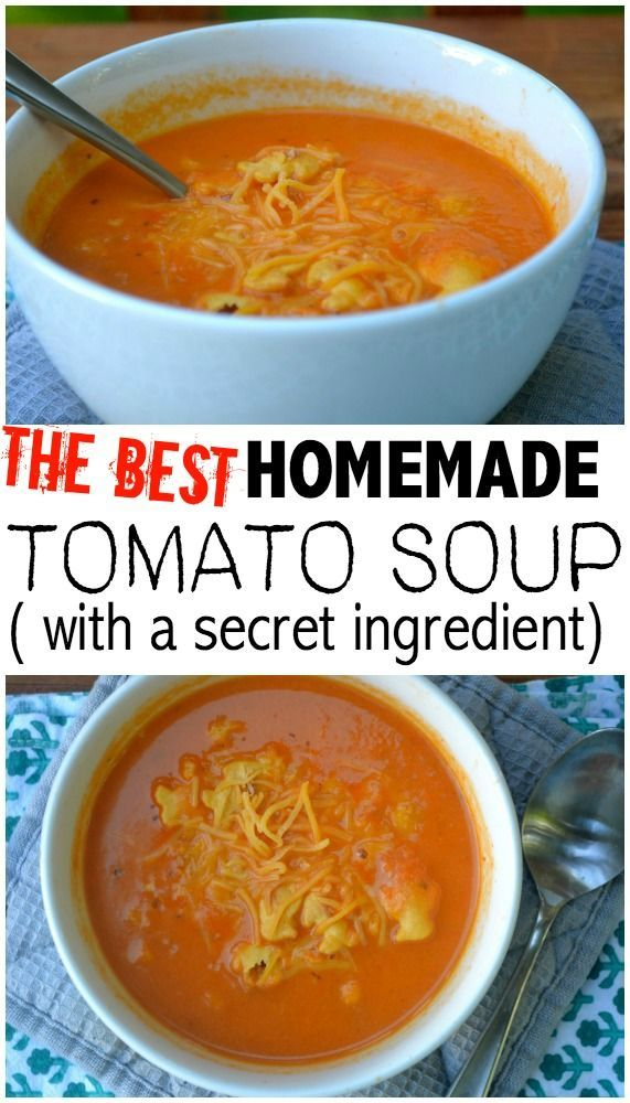 Best Ever- Homemade Tomato Soup- Instant Pot Option | Soup ...