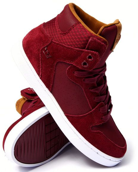 88d8526e54 Love this Vaider LX Burgundy Suede/Leather Sneakers on DrJays and only for  $110. Take 20% off your next DrJa… | Things I want for Birthday or  Christmas ...