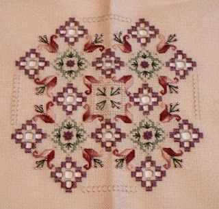 hardanger patterns free | You Sew Should...: Hardanger Finish!