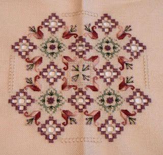 hardanger patterns free | You Sew Should...: Hardanger Finish!