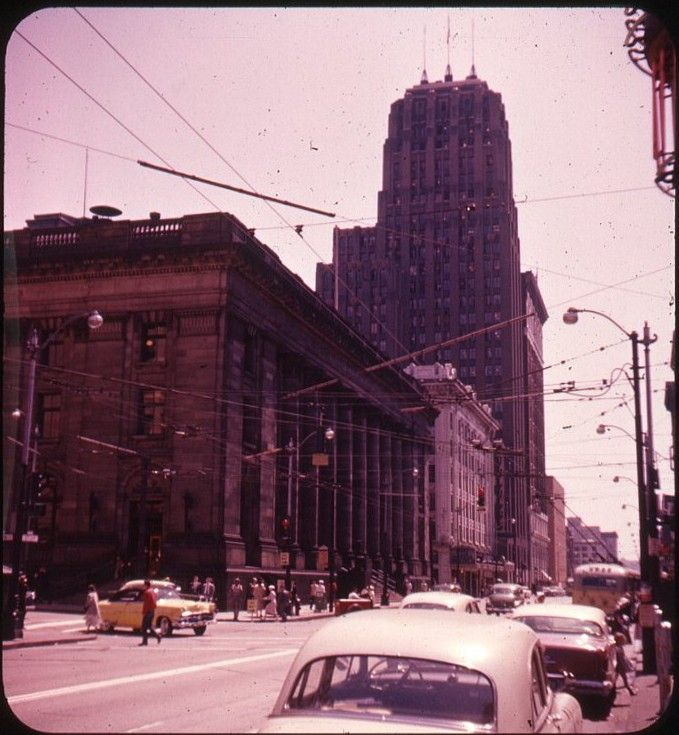 Seattle Main Post Office At 3rd And Union, 1950s