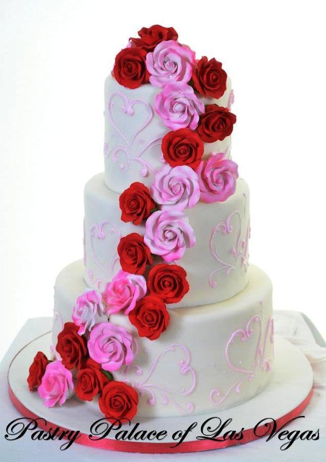 Wedding Cake Cascade