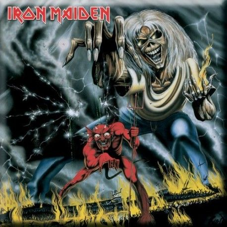 Magnet Iron Maiden: The Number of the Beast