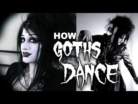 How Goths Dance | Black Friday - YouTube