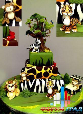 Торт джунгли 3