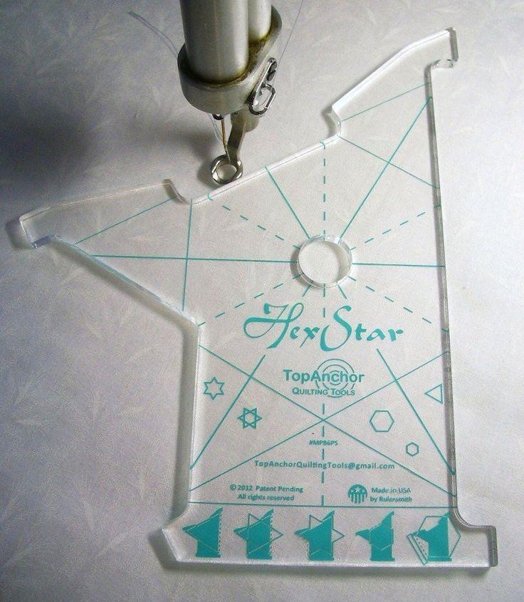 Hexagon Quilt Pattern Template & Design – TopAnchor Quilting Tools
