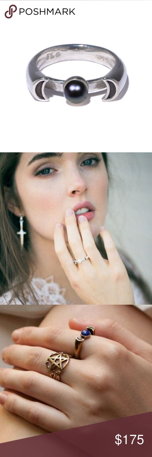 25 best ideas about black pearl rings on pinterest gold for Pamela love jewelry designer