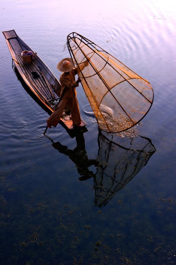 Inle Lake, Myanmar. Bekijk reizen naar Myanmar: http://www.vanverre.nl/myanmar/rondreizen