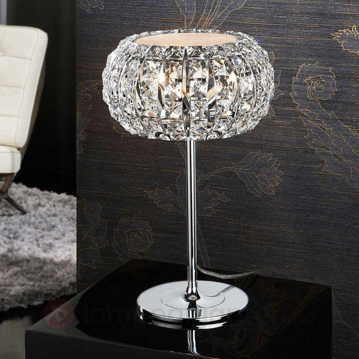 Bordlampe DIAMOND med krystaller sicher & bequem online bestellen bei Lampenwelt.de.