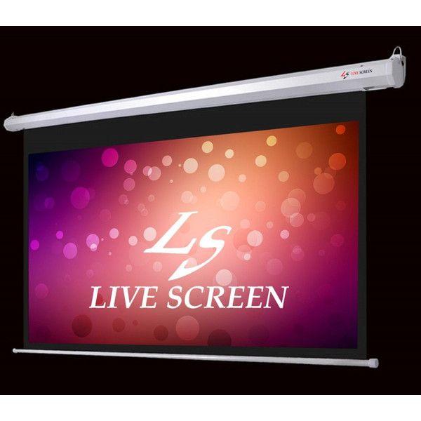 送料込み31500円 フルHD対応 16:9 120インチ 電動格納 プロジェクタースクリーン