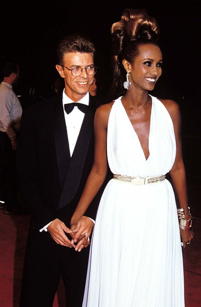 The Gorgeous Couple...Bowie and Iman