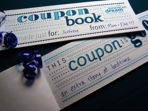 1000 images about simplify the holidays on pinterest for Personalized coupon book template