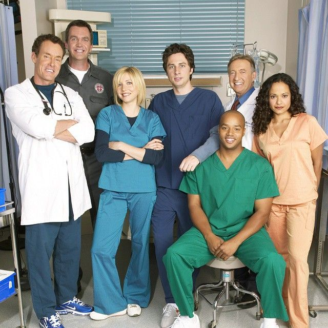 #The30DaysofChannelSurfing Day 15: TV Show Cast you would want to hang out with - #Scrubs @ZachBraff
