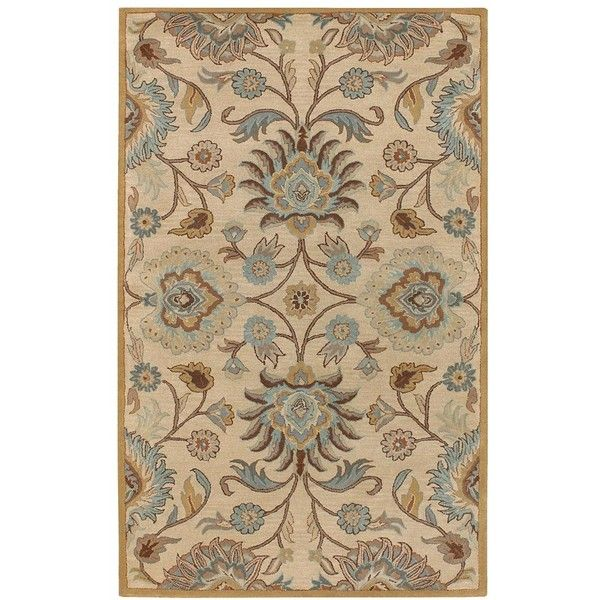 Caesar-Persian-Accent-Rug ($409) ❤ liked on Polyvore featuring home, rugs, persian design rugs, persian style rugs, persian area rugs, persian style area rugs and persian rugs